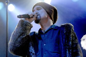 James frontman Tim Booth.