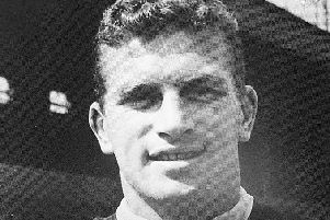 Brian Miller in his heyday playing for the Clarets
