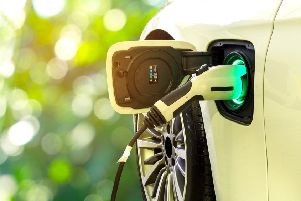 Four North East businesses are being given the chance of winning a �20,000 grant to help develop ways to increase the uptake of electric vehicles.