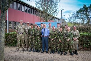 Prize winning Air Cadets from 346 (Tynemouth) Squadron visited RAF Boulmer to experience a regular working day at a RAF Operations Site. Picture by MOD.