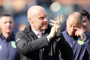 Burnley manager Sean Dyche following his team's win over Wolverhampton Wanderers.