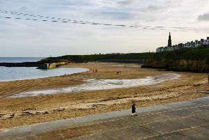 Work is continuing to identify the causes of the localised deterioration of bathing water quality at Cullercoats beach, pictured.