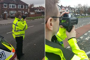 Mobile speed enforcement cameras. Picture: West Yorkshire Police Facebook