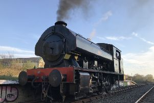 The 401 steam locomotive is now back in use at Stephenson Railway Museum.