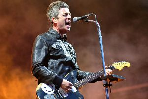 Noel Gallagher performing at Newcastle's second This is Tomorrow festival. Photo: Carl Chambers.