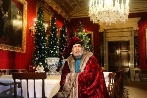 Marco Polo, one of the characters taking part in this year's Christmas at Chatsworth