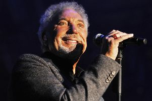 Sir Tom Jones performs in Alnwick in 2015. Picture by Jane Coltman