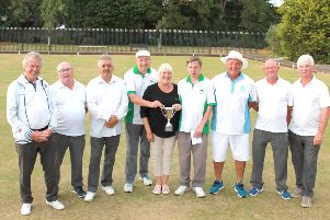 Whitburn Pairs semi-finalists and finalists From left: Bill Laidler, Joe Sutherland, Frankie Froud, Michael Creegan, competition organiser Brenda Harper, Alan Clark, Bryan Sanderson, Jimmy McAdoo, Freddie Fletcher CONTRIBUTED PIC, NOT FOR RESALE
