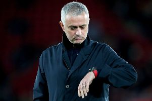 Jose Mourinho's time is up as manager of Manchester United after they sacked him in his third season at the club (Picture: Andrew Matthews/PA WIre).