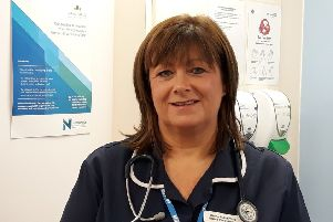 Diane Rutherford, Northumbria Primary Care's first community nurse practitioner.