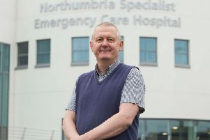 Dr Jeremy Rushmer, executive medical director at Northumbria Healthcare.