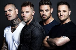 Boyzone return to Newcastle next week.