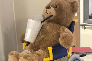 Bobbys Monday message is about staying hydrated.