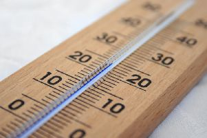 A thermometer.