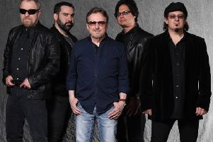 US rock veterans Blue Oyster Cult.