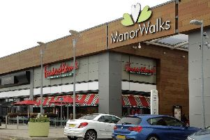 Manor Walks shopping centre in Cramlington. Picture by Kevin Gibson Photography.