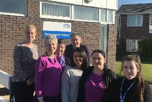 Members of the team at Elsdon Avenue Surgery in Seaton Delaval which has joined Northumbria Primary Care.
