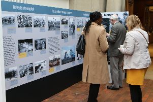 The visiting exhibition at Mansfield Museum