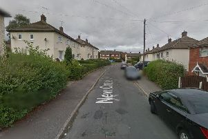 A man died in a house fire in New Cross Drive, Woodhouse, this morning