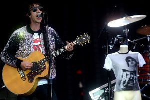 Richard Ashcroft supporting the Rolling Stones at Edinburgh's Murrayfield Stadium in June last year. Photo: Lisa Ferguson