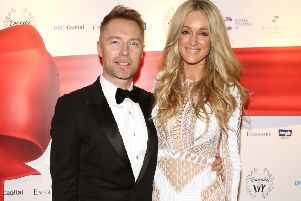 Ronan Keating and his wife Storm are supporting Cancer Research UK roadshows.