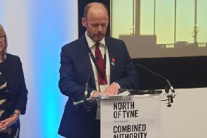 The first North of Tyne Mayor, Labour's Jamie Driscoll.