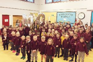 Whittingham Primary School has welcomed its 100th pupil.