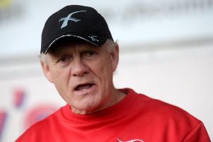 Doncaster Knights coach Clive Griffiths