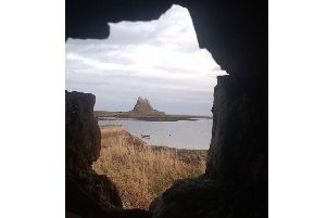 An unusual view of Holy Island by Liz Mansell Patterson. 208 Facebook likes