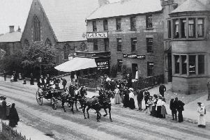 Blackshaws in Bondgate Without, Alnwick in 1925
