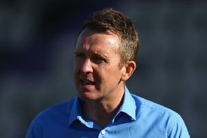 Dominic Cork. Pic credit: Getty images.