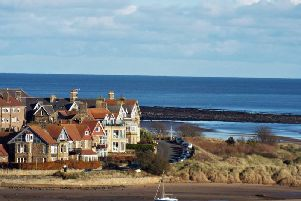 FIRST: Beautiful Alnmouth by Kitty Farrell (216 likes).