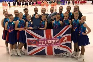 Matlock resident Abigail Wibberley, 11, was part of the Ice Pops squad which won the British Synchronized Skating Championships in January 2019.