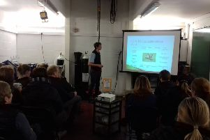 The presentation at Fairmoor Equine Clinic by Euan Hammersley on common equine emergencies, first aid and the point a vet should be called for help.