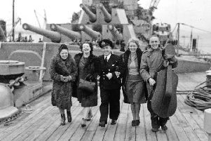 Music travellers were ordered to 'encourage music' and this image of some of them is included in the The Women Made - Her Voice exhibition at the Baliffgate Museum in Alnwick.