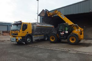 Gritters will be out in Nottinghamshire again tonight.