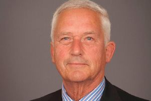 Coun Glen Sanderson, cabinet member for the environment and local services.