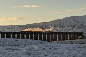 The Ribblehead Viaduct on the Settle to Carlisle line. Picture: Danny Lawson/PA Wire