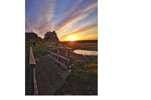 FIRST: Claire Dinning posted this amazing shot of Lindisfarne Castle to our Northumberland Camera Club, run by photographer Ivor Rackham. 711 Facebook likes