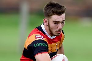 Owen Lumb scored a cracking try when he took on the entire Barrow Island defence to grab a second score for Shaw Cross but it wasn't enough to prevent the Sharks slipping to defeat at Barrow Island.