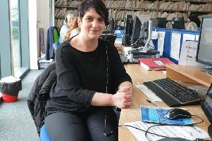 Paula Charlton on the Northumbria Healthcare NHS Foundation Trust switchboard.