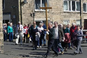Rothbury Walk of Witness. Pictures by Jeff Reynalds