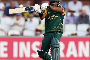 Samit Patel hit a brilliant century to guide Notts to victory.