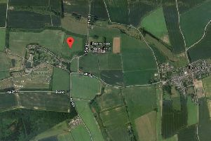 The proposed location of the 60 new caravans at Barmoor Castle Country Park. Picture from Google