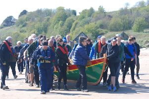 Enflaeda is carried to the sea.