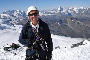 Yorkshire mountaineer Alan Hinkes OBE, remains Britain's only adventurer to claim all 14 Himalayan 8,000m peaks.