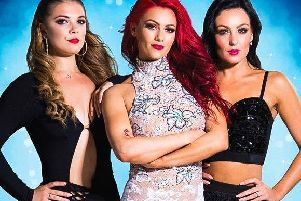 Leading ladies Dianne Buswell, Amy Dowden and Chloe Hewitt