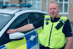 Michael Scott has served more than 35 years as a Northumbria Special Constable