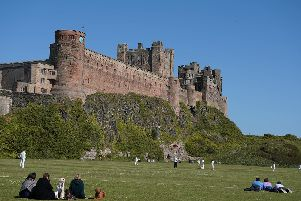 Bamburgh Castle in Northumberland is privately opened but still open to visitors.