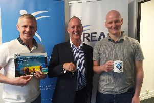Mike Worrall (Project Manager), Martin Rimmer (Founder and Director), Kyle Mitchell (Systems and Data Specialist)